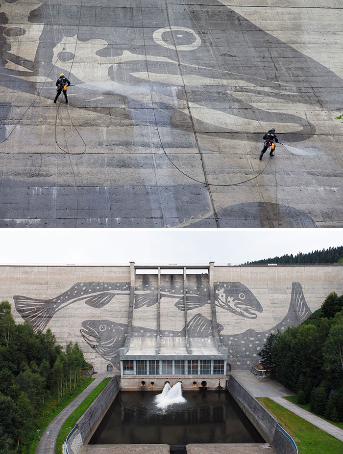 power washing transformations dam germany