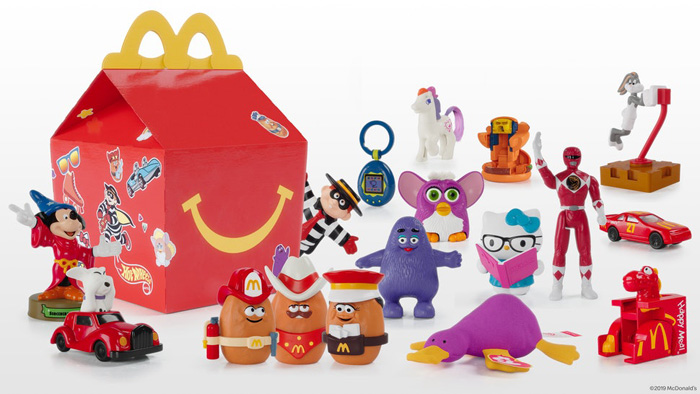 retro mcdonald's happy meal toys