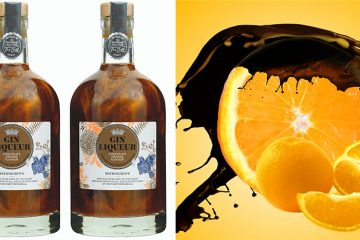 shimmery chocolate orange gin