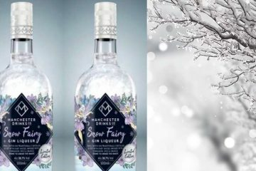 snow fairy gin bottle