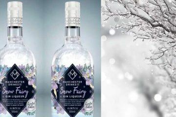 snow fairy gin bottle