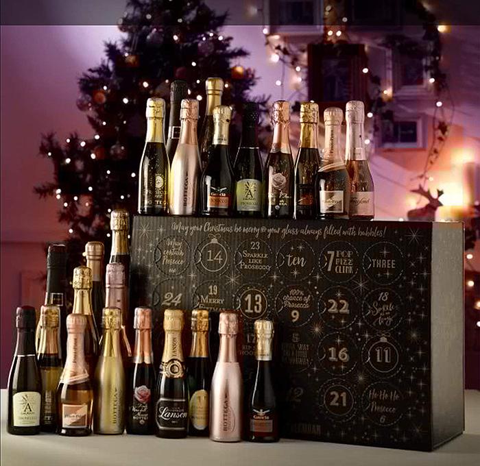 sparkling fizz countdown to christmas