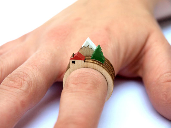 stackable landscape rings all designs