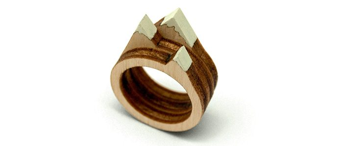 stackable landscape rings mountain