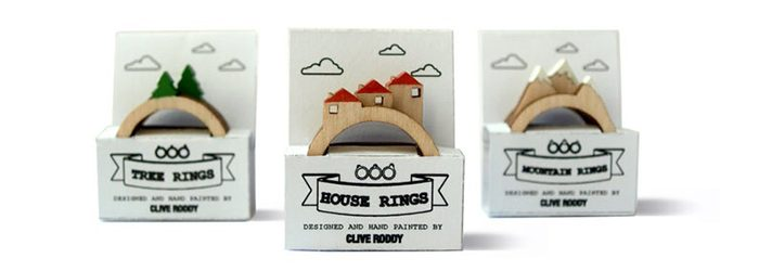 stackable landscape rings packaging