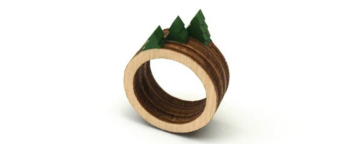 stackable landscape rings tree