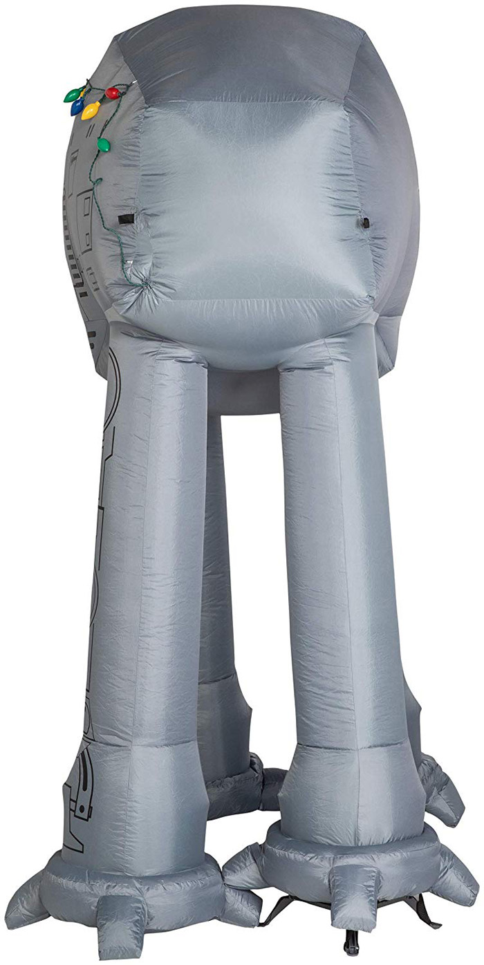 star wars themed inflatable back