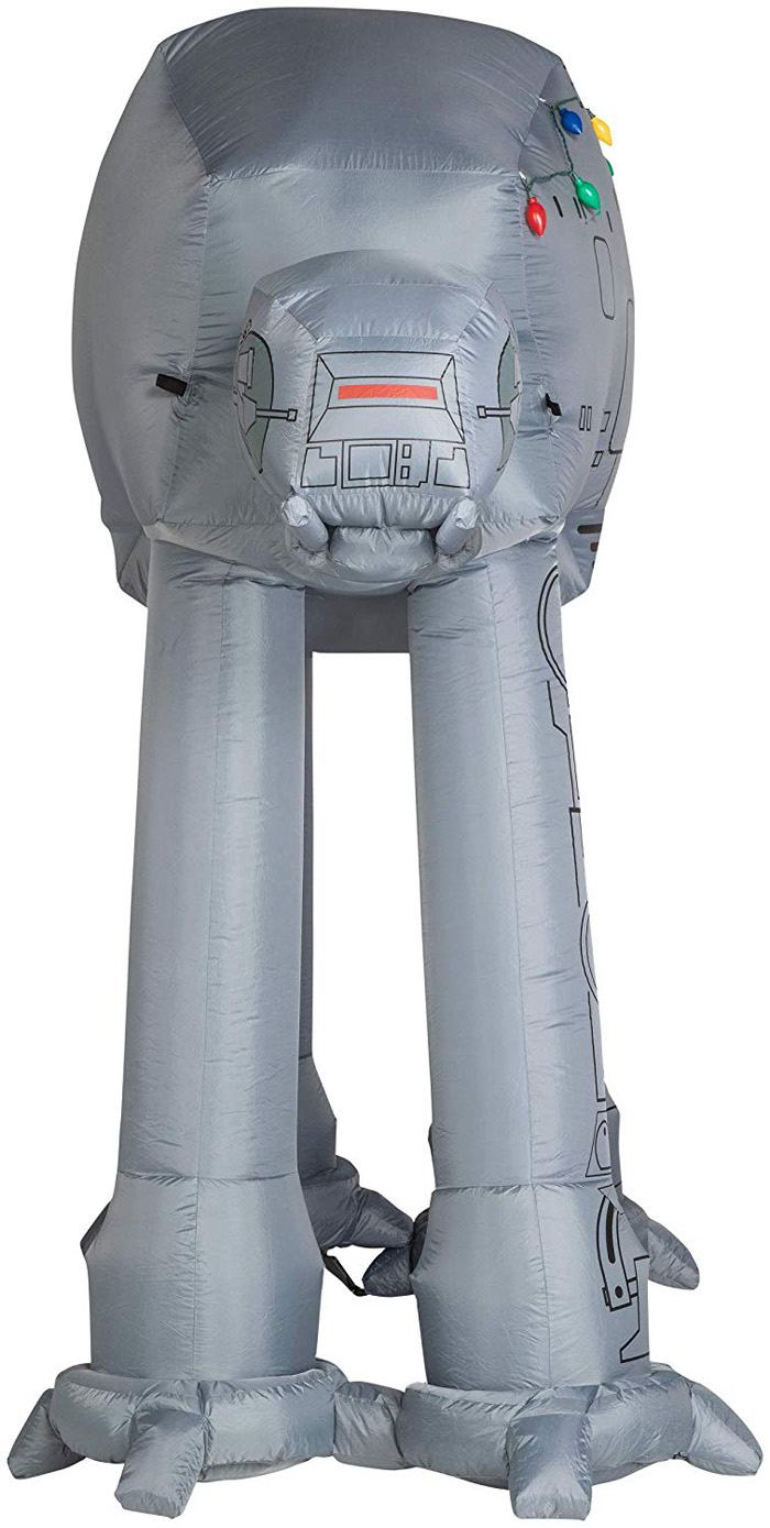star wars themed inflatable front