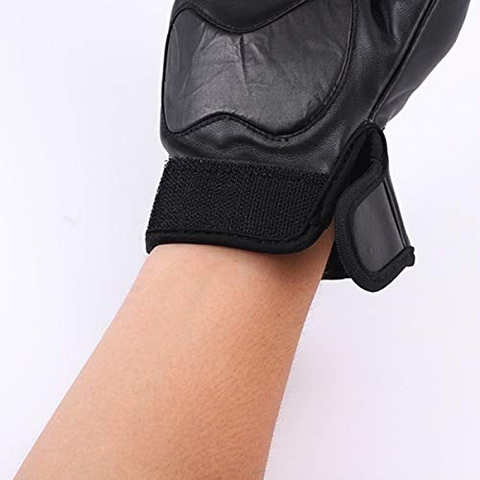 stun gun gloves velcro closure