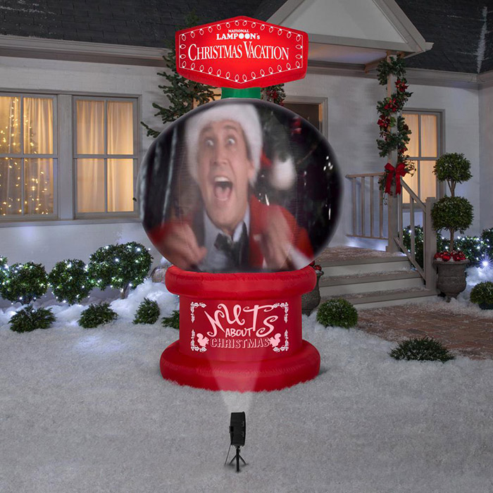 suggestion display inflatable national lampoon's christmas vacation snow globe