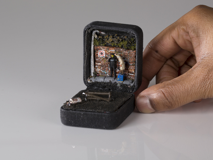 talwst ring box dioramas banksy is your gran