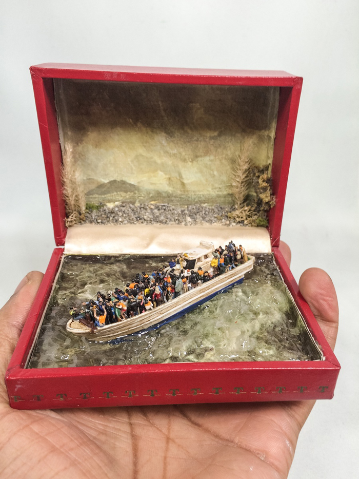 talwst ring box dioramas deluge