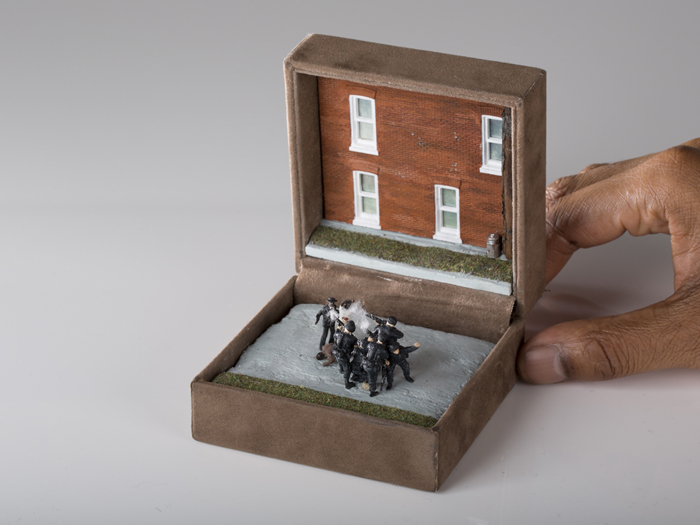 talwst ring box dioramas the execution of unarmed black men