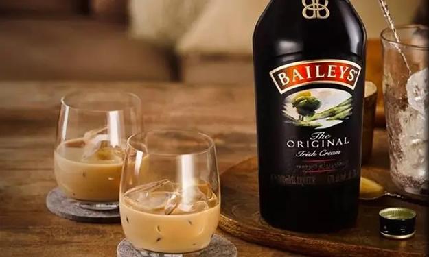 two shots of baileys irish cream