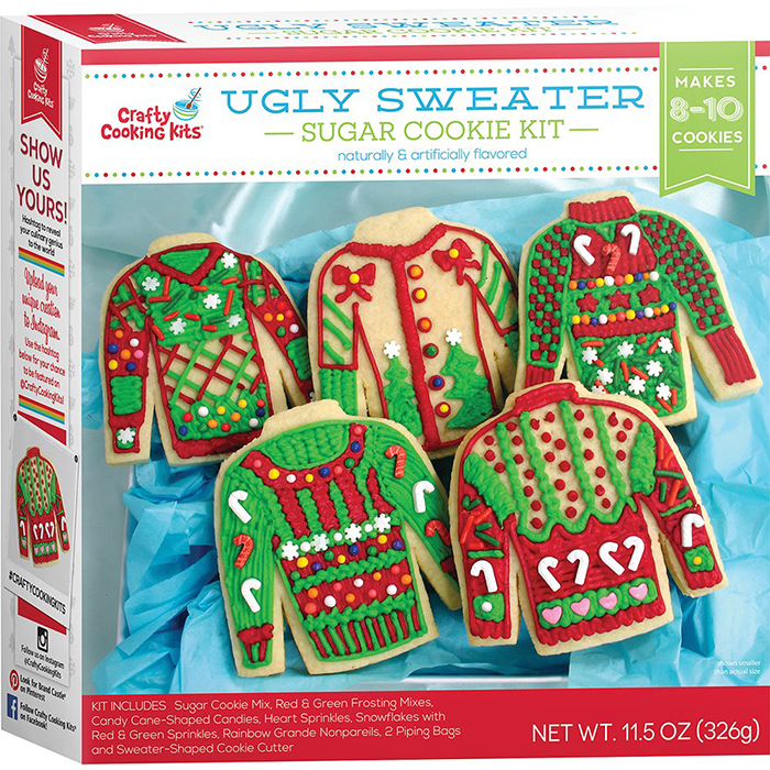 ugly sweater cookie cutters