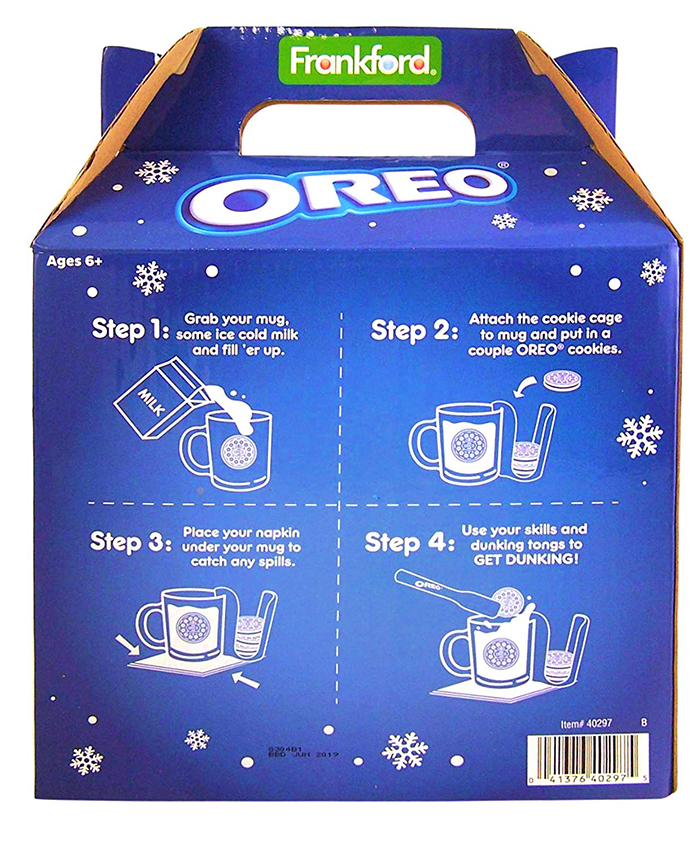 ultimate dunking set packaging