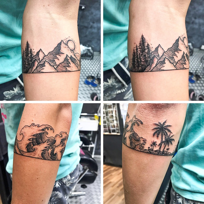 unusual tattoos world traveler