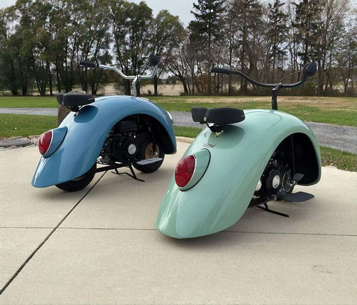 volkspod volkswagen beetle scooters