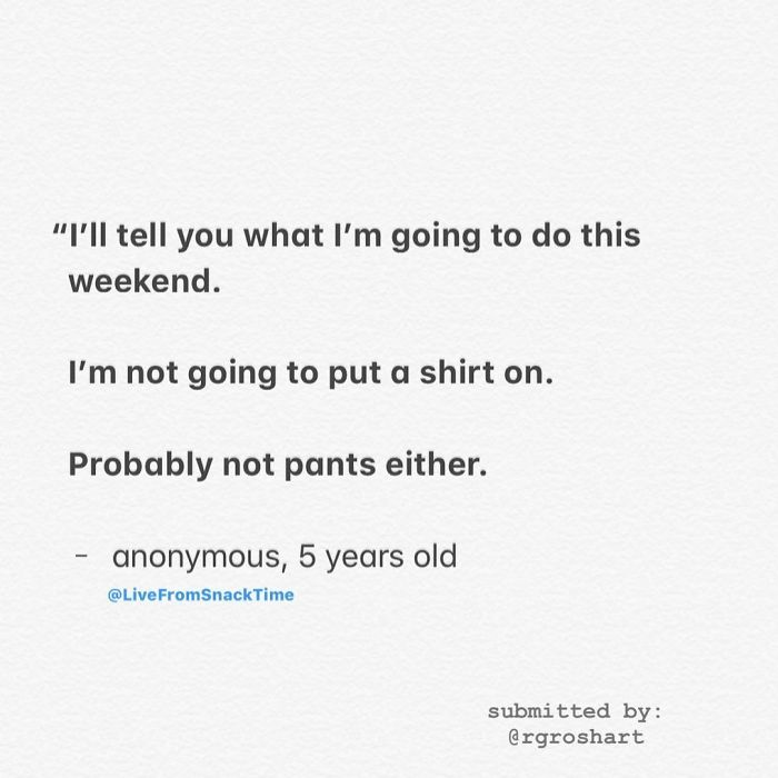 wacky children quotes naked weekend