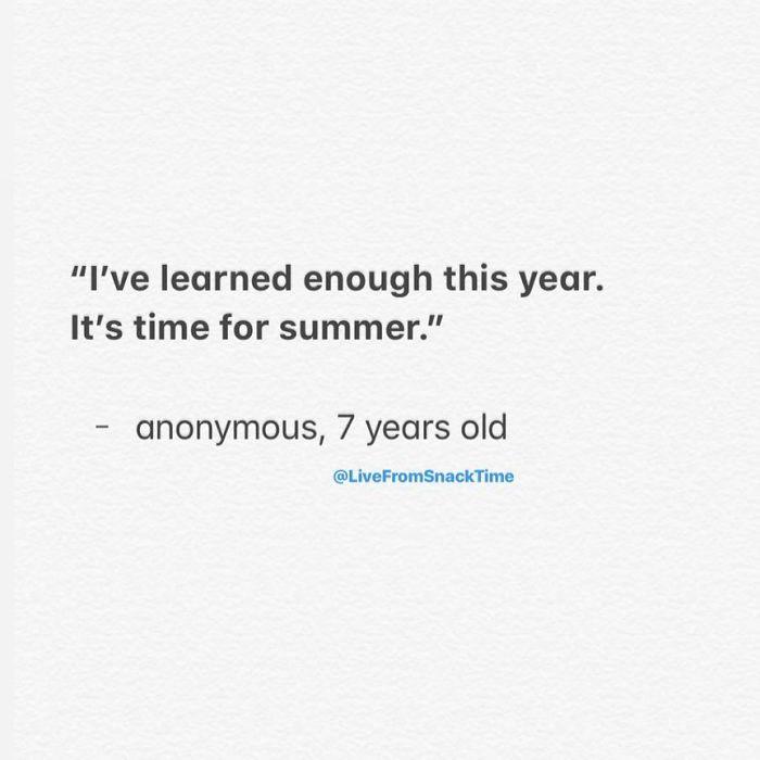 wacky children quotes summer