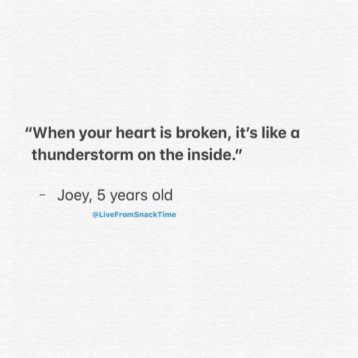 wacky children quotes thunderstorm heart