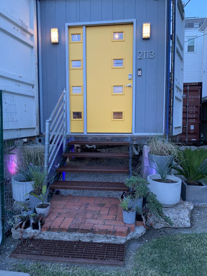 will breaux home doorway