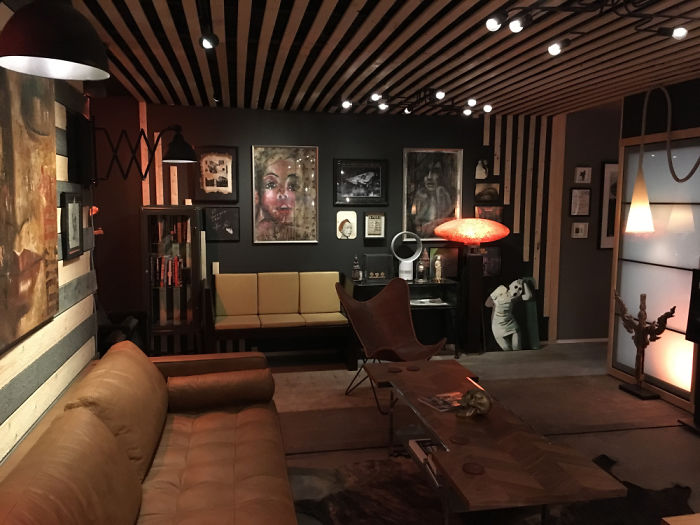 will breaux shipping container home interior