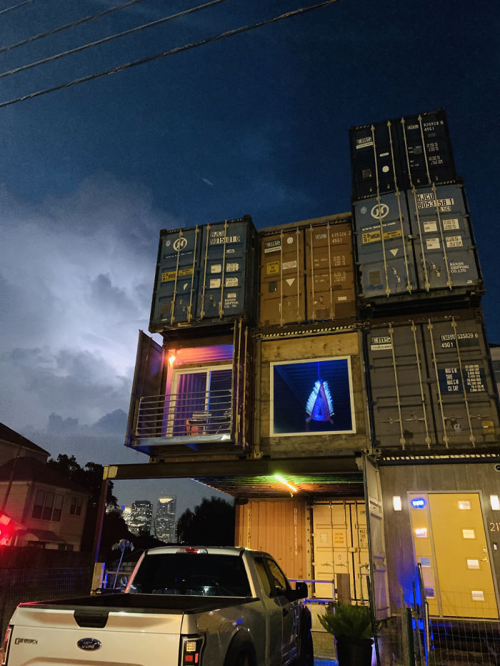 will breaux shipping container home three story house