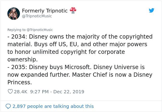 2034 to 2035 disney buys off EU and Microsoft