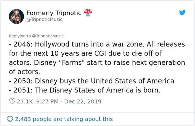 2046 to 2051 disney states of america is born