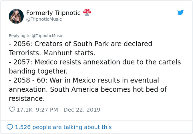 2056 to 2058 south park creators