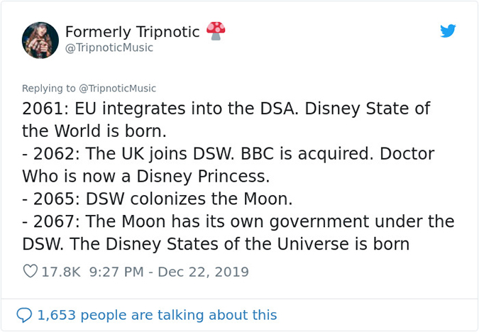 2061 to 2067 disney universe