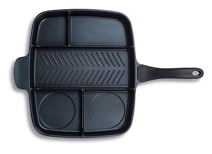 5 section skillet pan