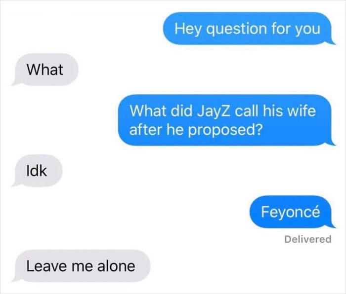 Beyonce Pun