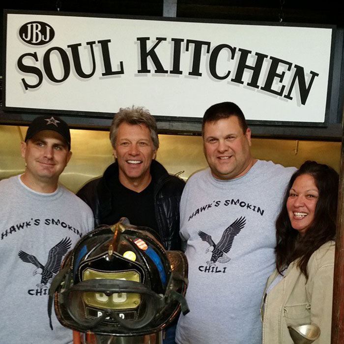 Bon Jovi and Soul Kitchen Chili Contest Participants