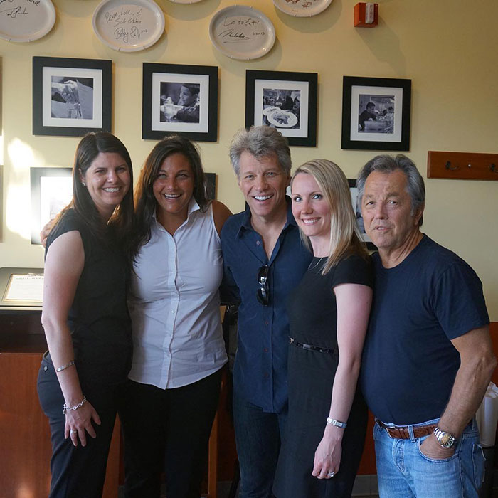 Bon Jovi with Friends from Tiffany and Co. and Gold Tinker Jewelry