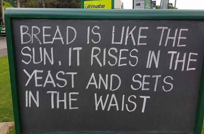 Bread Pun