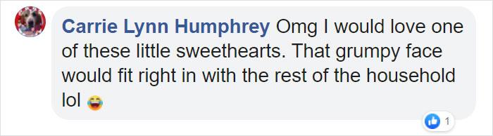 Carrie Lynn Humphrey Facebook Comment