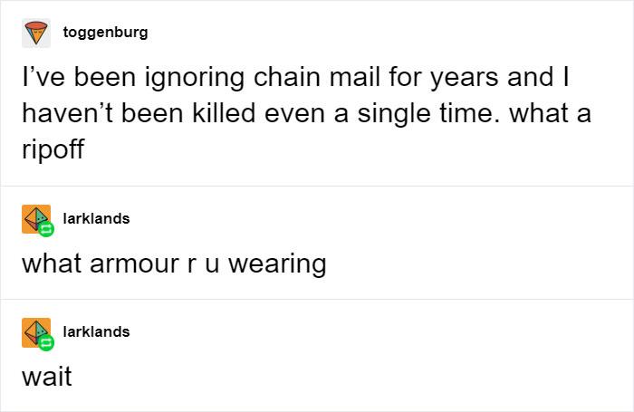 Chain Mail Pun
