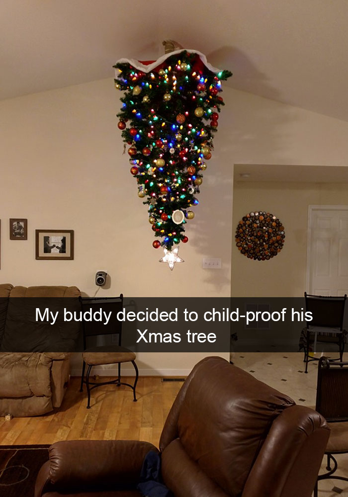 Child Proof Christmas Tree