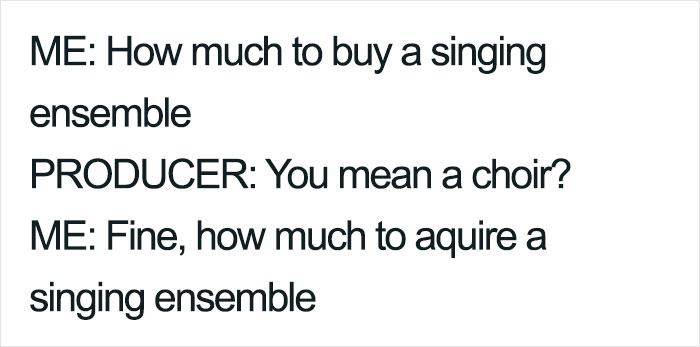 Choir Pun