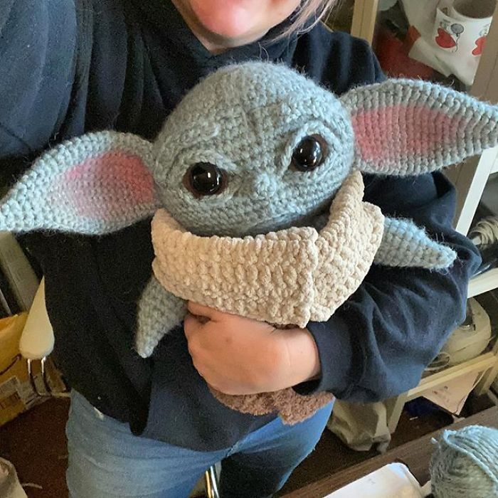 Crocheted The Child from The Mandalorian