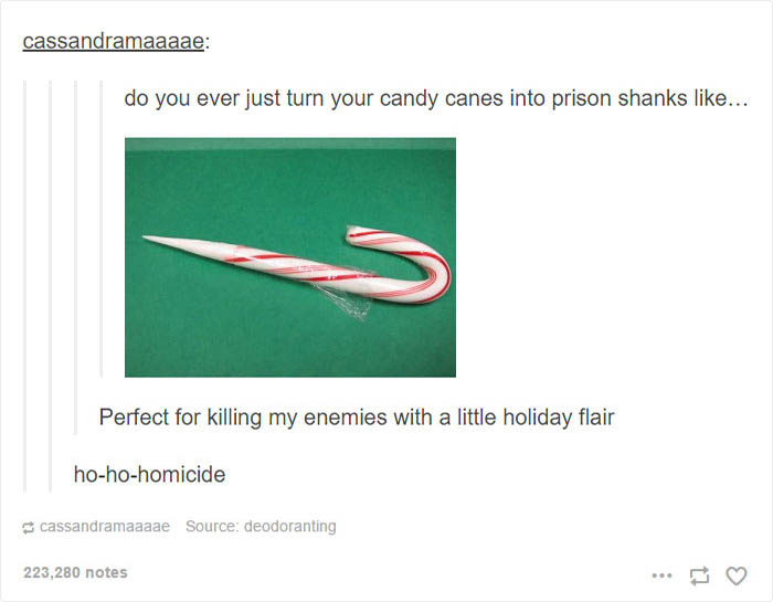 Dangerous Candy Cane