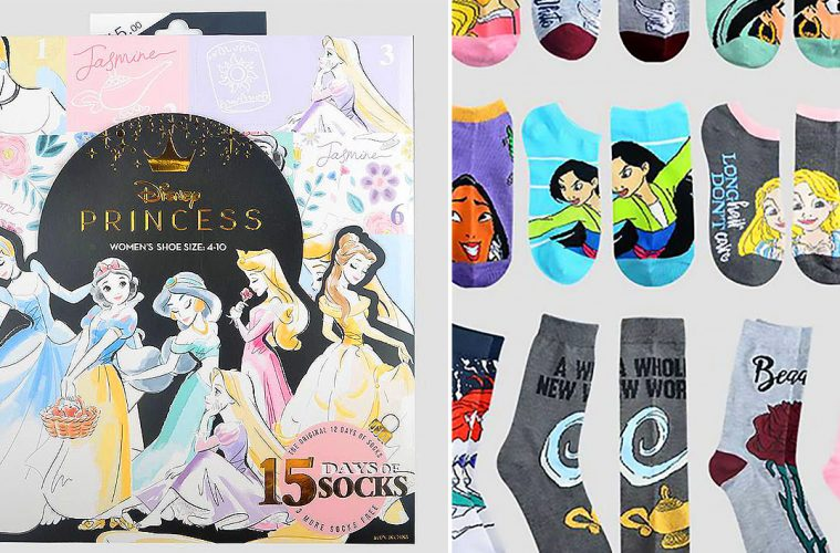 Disney princess sock advent calendar