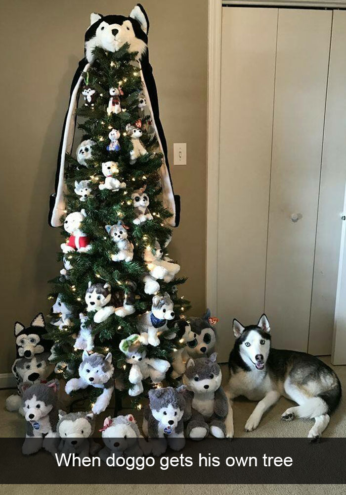 Dog Themed Christmas Tree