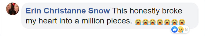 Erin Christanne Snow Facebook Comment