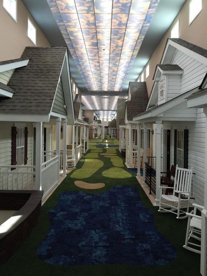 Fascinating Things Assisted Living Facility That Looks Like a 1940s American Town