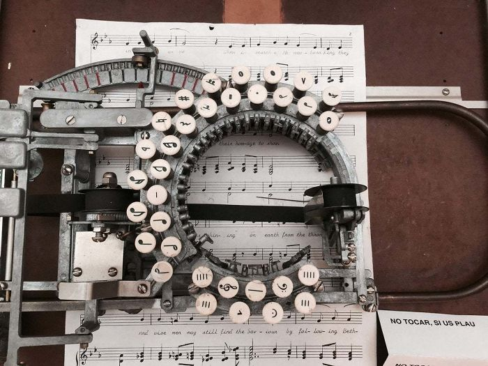 Fascinating Things Music Typewriter