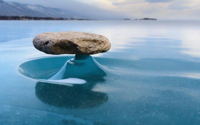 Fascinating Things Rocks on the Lake Baikal