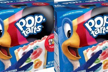 Froot Loops Pop-Tarts